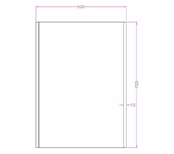 Technical drawing QS-V81427 / MI037