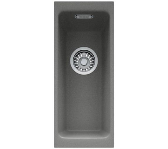 Alternate image of Franke Kubus DP KBG 110 16 + KBG 110 34 Fragranite Stone Grey Sink And Tap