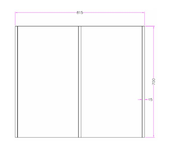 Technical drawing QS-V81428 / MI038