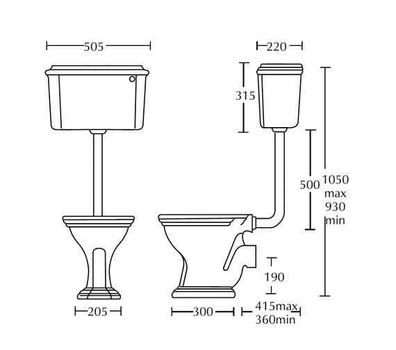 Technical drawing QS-V40527 / OX1WC01030