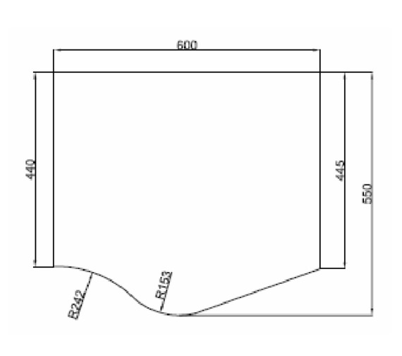Technical drawing QS-V81429 / MI039