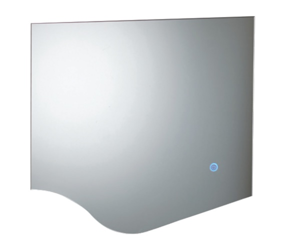 Phoenix Wave 600mm LED Mirror With Heated Demister Pad
