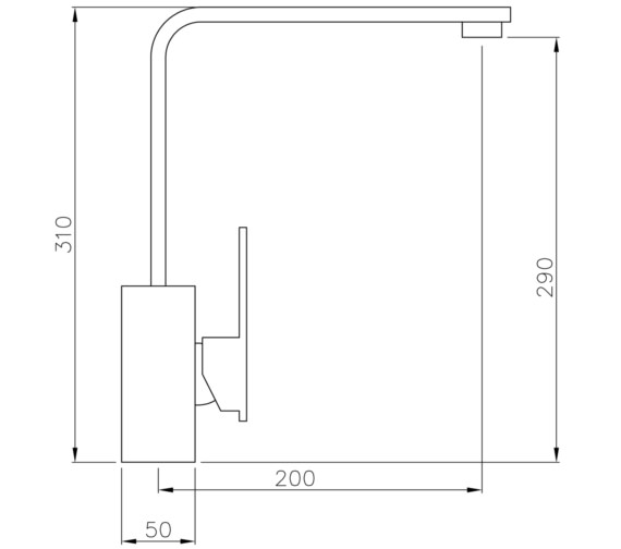 Technical drawing QS-V8612 / AT1182