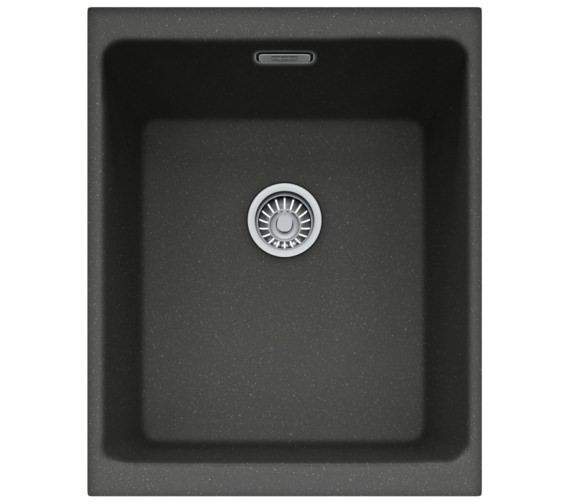Franke Kubus KBG 110 34 Fragranite Onyx 1.0 Bowl Kitchen Undermount Sink