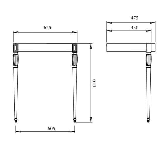 Technical drawing QS-V16495 / ZXBS1090100