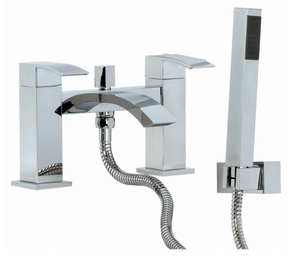Phoenix VK Series Deck Mounted Bath Shower Mixer With Kit