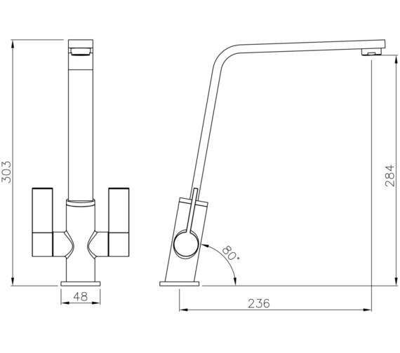 Technical drawing QS-V8628 / AT1220