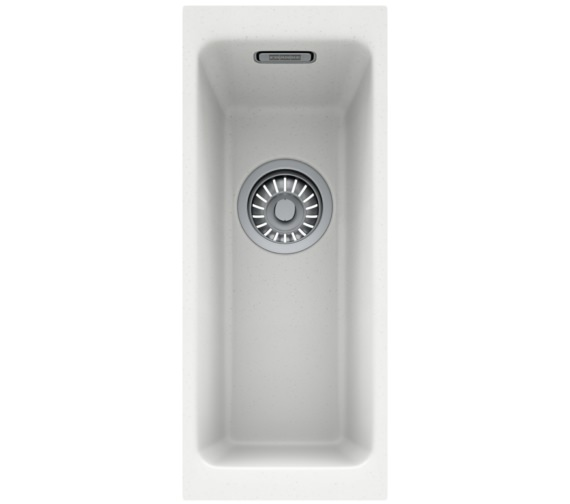 Alternate image of Franke Kubus DP KBG 110 16 + KBG 110 50 Fragranite Polar White Sink And Tap