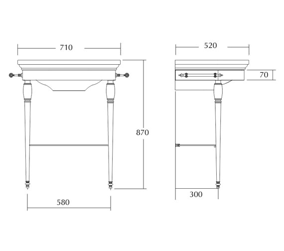 Technical drawing QS-V16498 / ZXBS3900100