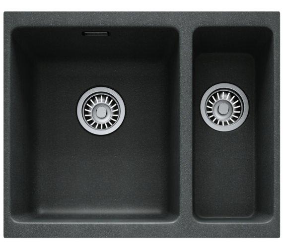 Franke Kubus KBG 160 Fragranite Onyx 1.5 Bowl Undermount Sink