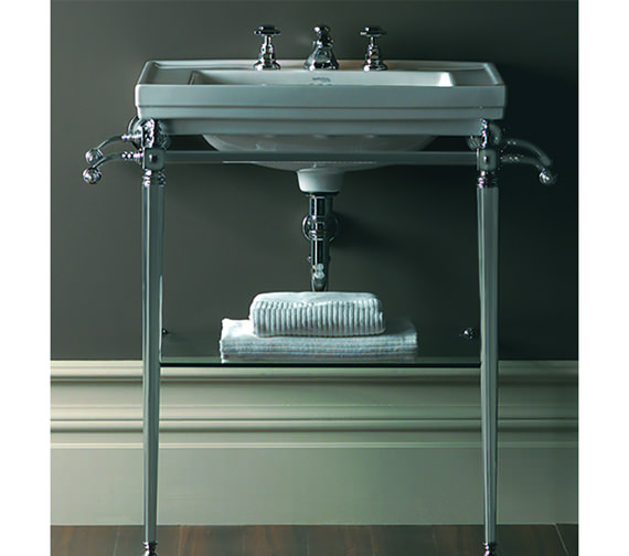 Imperial Astoria Deco Large Basin Stand And 640mm Basin