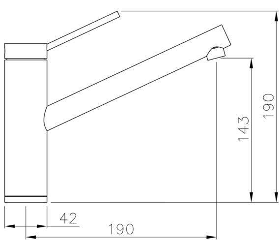 Technical drawing QS-V8621 / AT1211