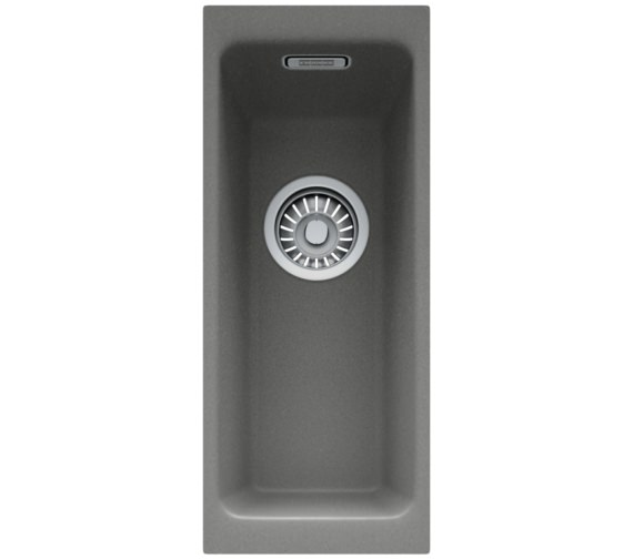Alternate image of Franke Kubus DP KBG 110 16 + KBG 110 50 Fragranite Stone Grey Sink And Tap