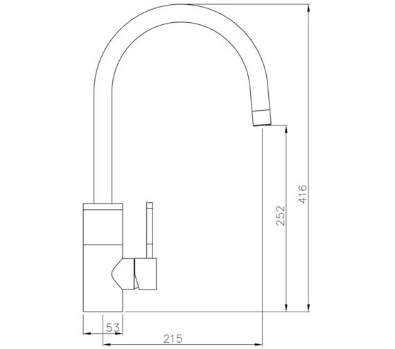 Technical drawing QS-V8640 / AT2034