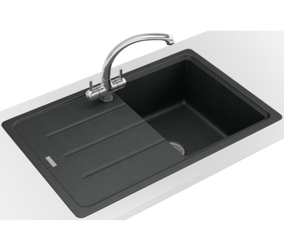 Franke Basis Propack BFG 611-780 Fragranite Onyx Kitchen Sink And Tap
