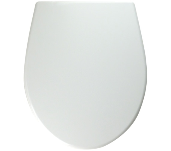 Twyford Alcona White Toilet Seat And Cover