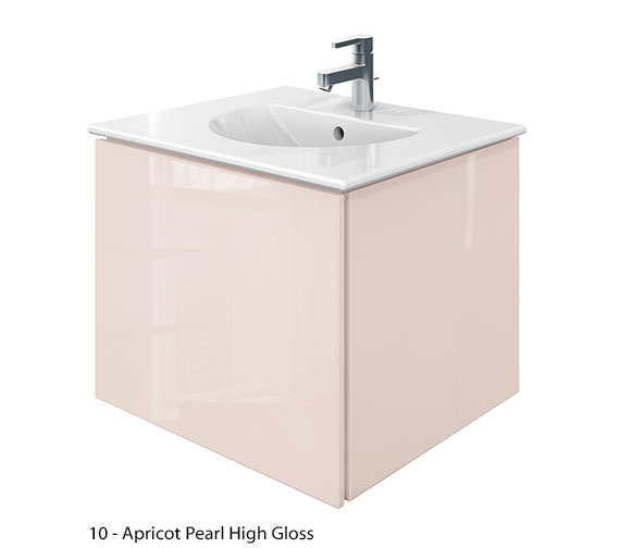 Alternate image of Duravit Delos 1 Compartment Jade High Gloss Unit With Darling New 630mm Basin