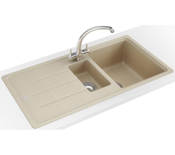Franke Basis Propack BFG 651 Fragranite Coffee Kitchen Sink And Tap