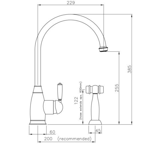 Technical drawing QS-V8648 / AT3007