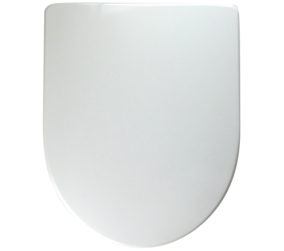 Twyford 3D Standard Toilet Seat And Cover With Stainless Steel Hinges