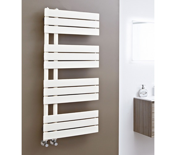 Phoenix Carla 500 x 800mm Pre-Filled Electric Designer Radiator Latte