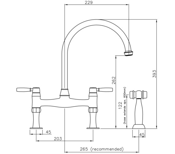 Technical drawing QS-V8662 / AT3023