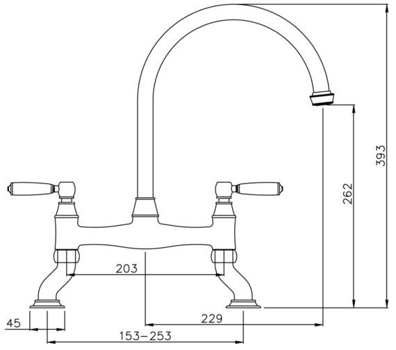 Technical drawing QS-V8649 / AT3008