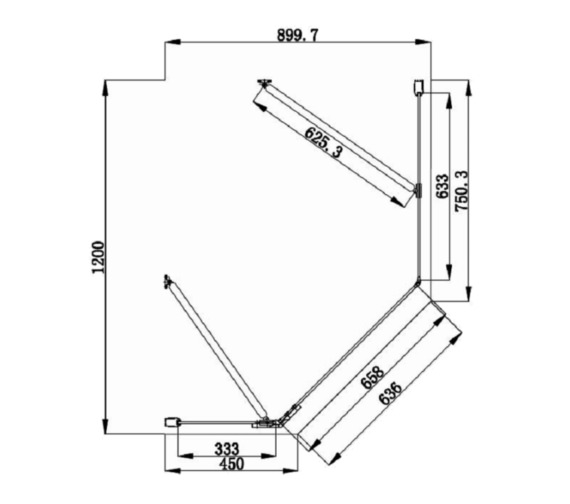 Technical drawing QS-V81474 / SE821L