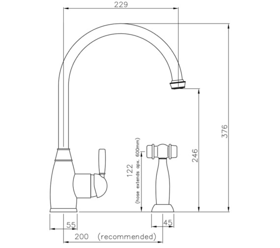 Technical drawing QS-V8658 / AT3019