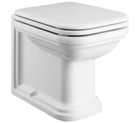 Bauhaus Waldorf Back To Wall WC 550mm