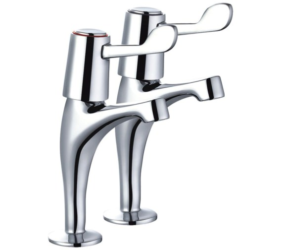 Mayfair Alpha High Neck Pair of Kitchen Tap - KIT129