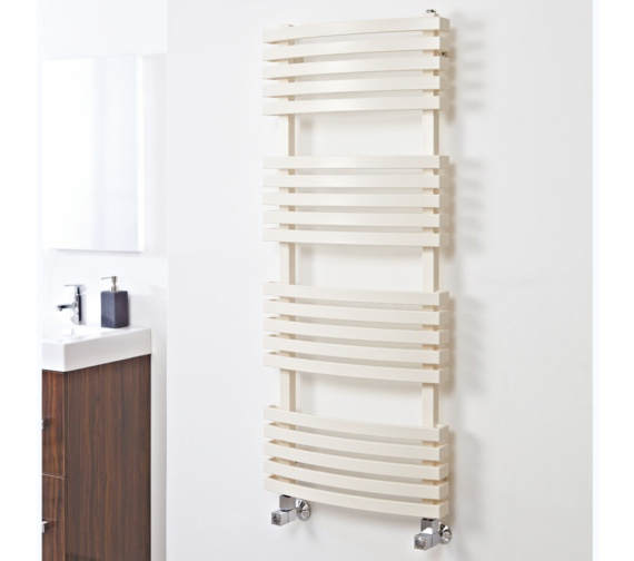 Phoenix Oto 480 x 1185mm Pre-Filled Electric Radiator Latte