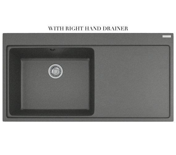 Alternate image of Franke Mythos Designer Pack MTG 611 Fragranite Stone Grey Kitchen Sink And Tap