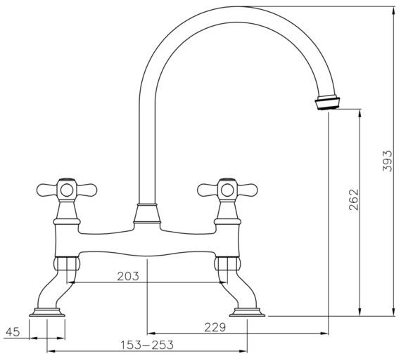 Technical drawing QS-V8677 / AT3038