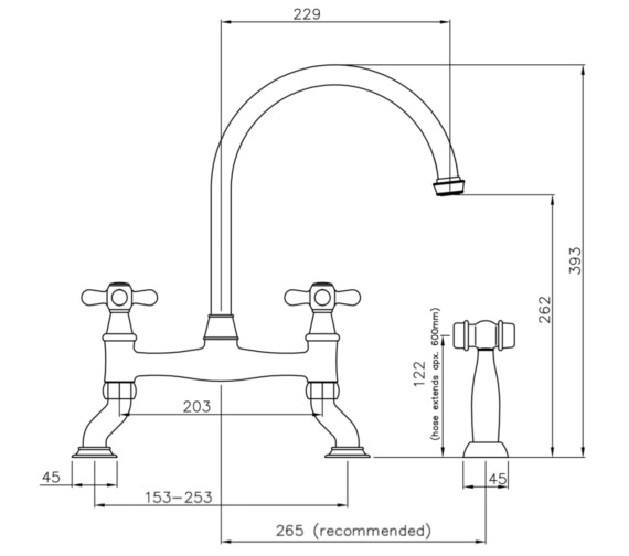 Technical drawing QS-V8678 / AT3039
