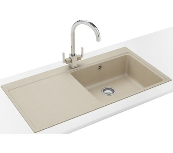 Franke Mythos Designer Pack MTG 611 Fragranite Coffee Kitchen Sink And Tap