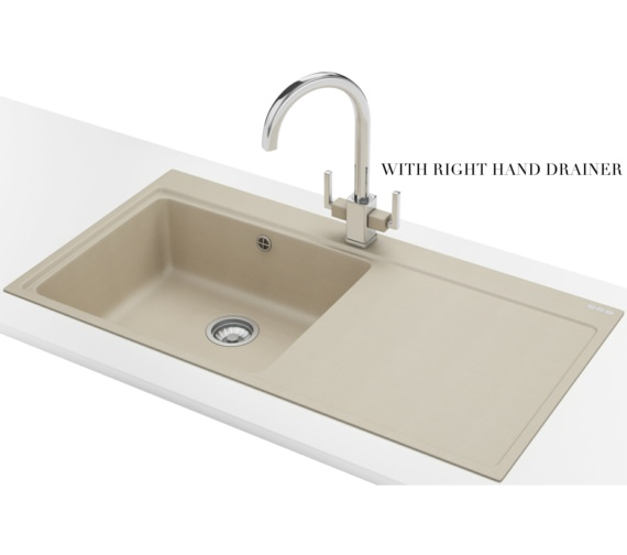 Alternate image of Franke Mythos MTG 611 Fragranite Coffee 1.0 Bowl Inset Kitchen Sink