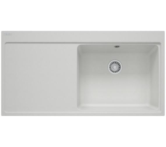 Franke Mythos MTG 611 Fragranite Polar White 1.0 Bowl Inset Kitchen Sink