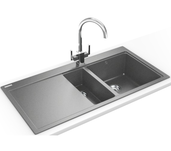 Franke Mythos Designer Pack MTG 651-100 Fragranite Stone Grey Sink And Tap
