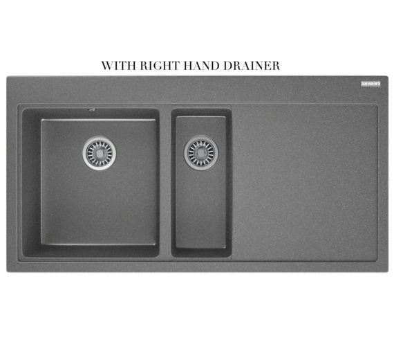 Alternate image of Franke Mythos Designer Pack MTG 651-100 Fragranite Stone Grey Sink And Tap