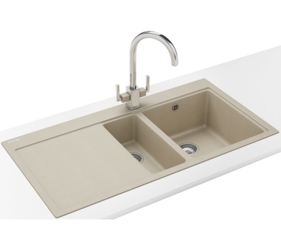 Franke Mythos Designer Pack MTG 651-100 Fragranite Coffee Sink And Tap
