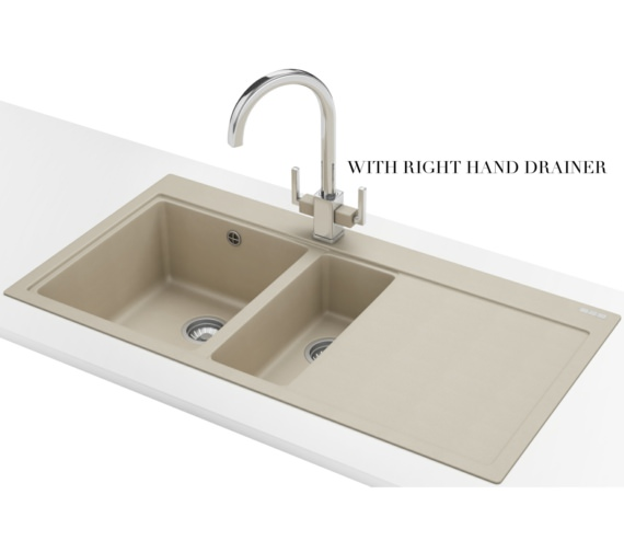 Alternate image of Franke Mythos Designer Pack MTG 651-100 Fragranite Coffee Sink And Tap