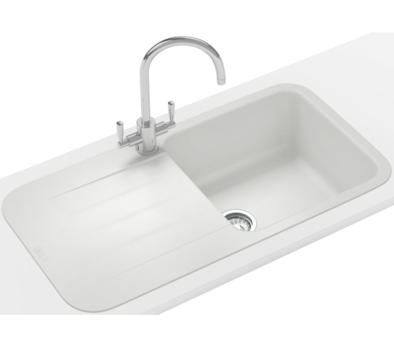 Alternate image of Franke Pebel PBG 611-970 Fragranite 1.0 Bowl Inset Kitchen Sink