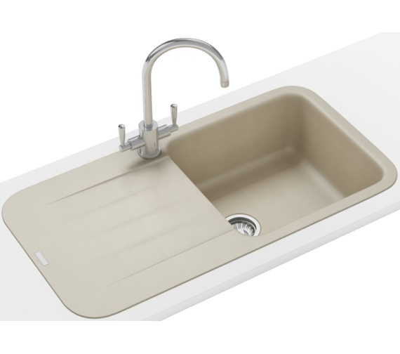 Franke Pebel Designer Pack PBG 611-970 Fragranite Coffee Inset Sink And Tap