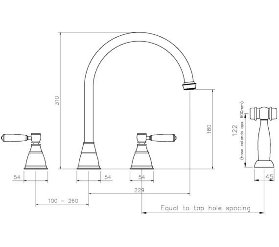Technical drawing QS-V8687 / AT3050