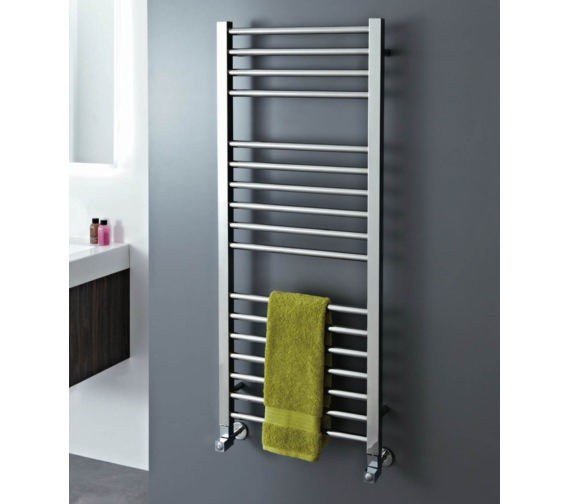 Phoenix Roscoe 500 x 800mm Polished Stainless Steel Radiator