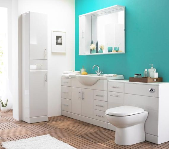 Premier Mayford 1050mm Floor Standing Vanity Unit And Basin