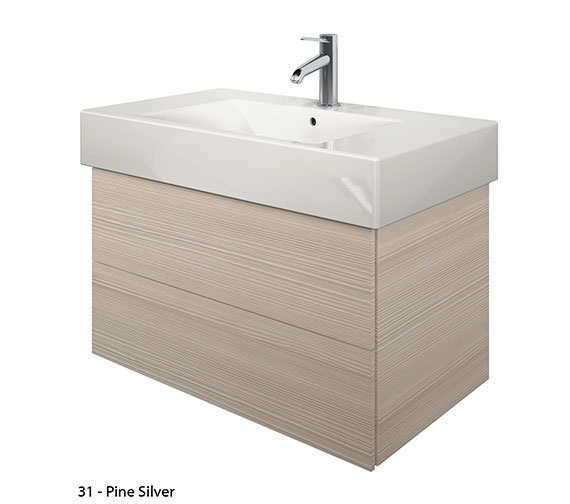 Alternate image of Duravit Delos 2 Drawers White Matt Unit With Vero 1250mm Basin