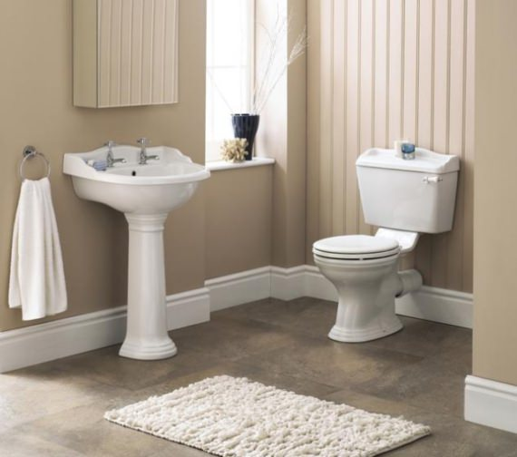 Premier Regent Close Coupled WC With Cistern And Soft Close Seat