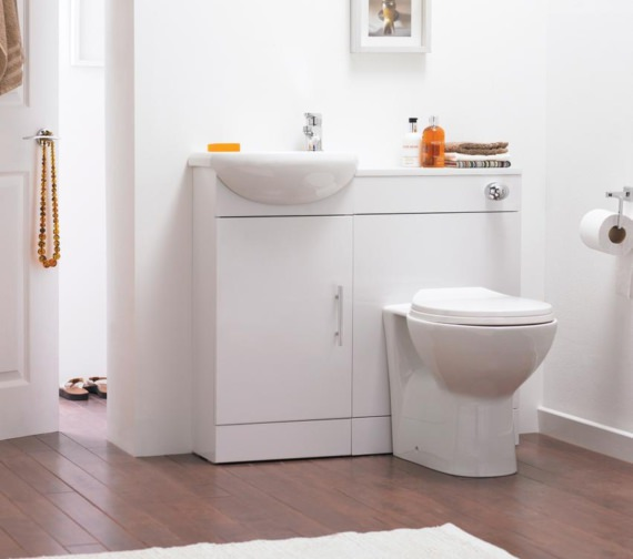Nuie Melbourne Back-To-Wall WC Pan 520mm